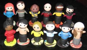 Star Trek Chibi Set Commission