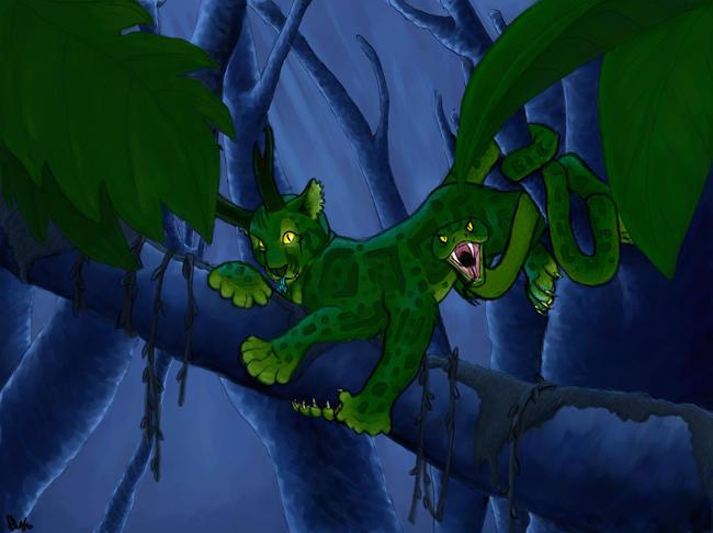 Greencat - Colored