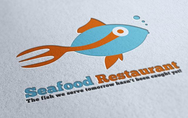 Seafood Restaurant Logo By Mmounirf On Deviantart