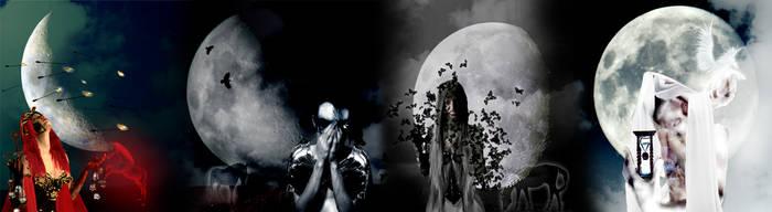 Horsemen of the Apocalypse by psychobitchua