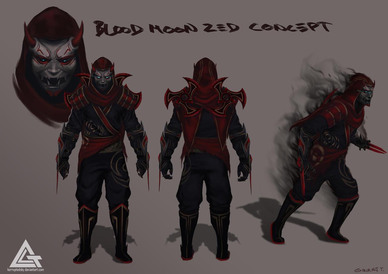 Bloodmoon zed by korruptedsky on deviantart - Blood moon zed ...