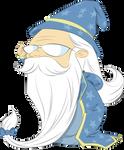 Harry Potter Comic Style - Dumbledore
