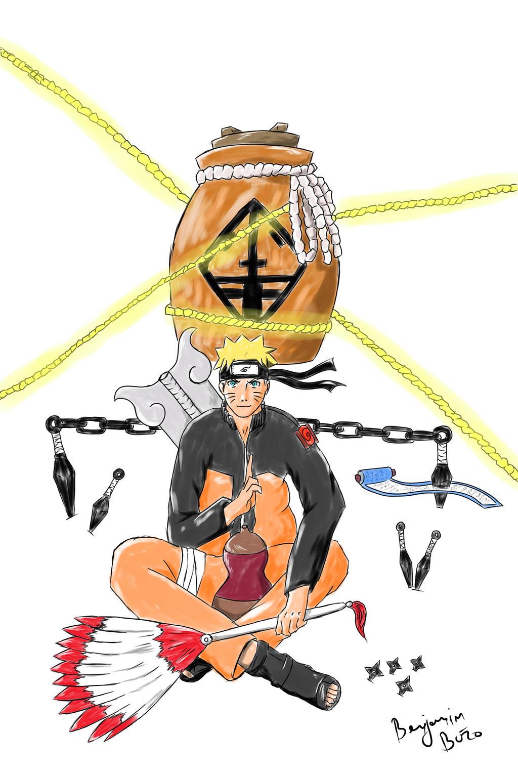 Naruto Sage of six paths (Rikodou Sennin) weapons by ...