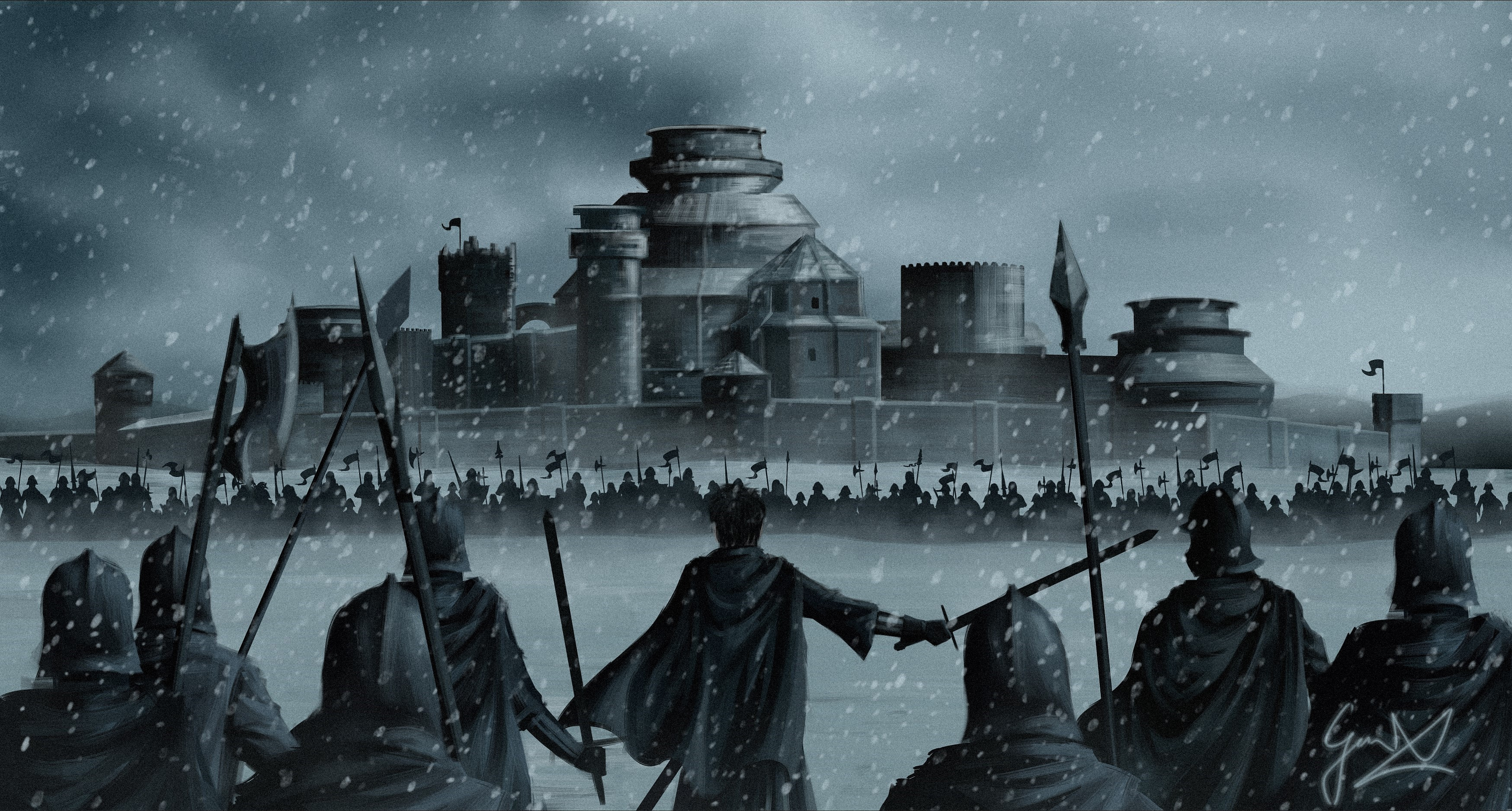 Game of Thrones: Battle of Winterfell by ManNamedGeorge