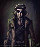 Kazuhira Miller - Metal Gear Solid V by CaptainBombastic