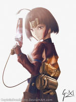 Mumei - Kabaneri of the Iron Fortress by CaptainBombastic