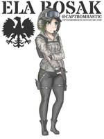 Rainbow Six Siege - Ela by CaptainBombastic