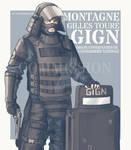 Rainbow Six Siege - Montagne (Commission)