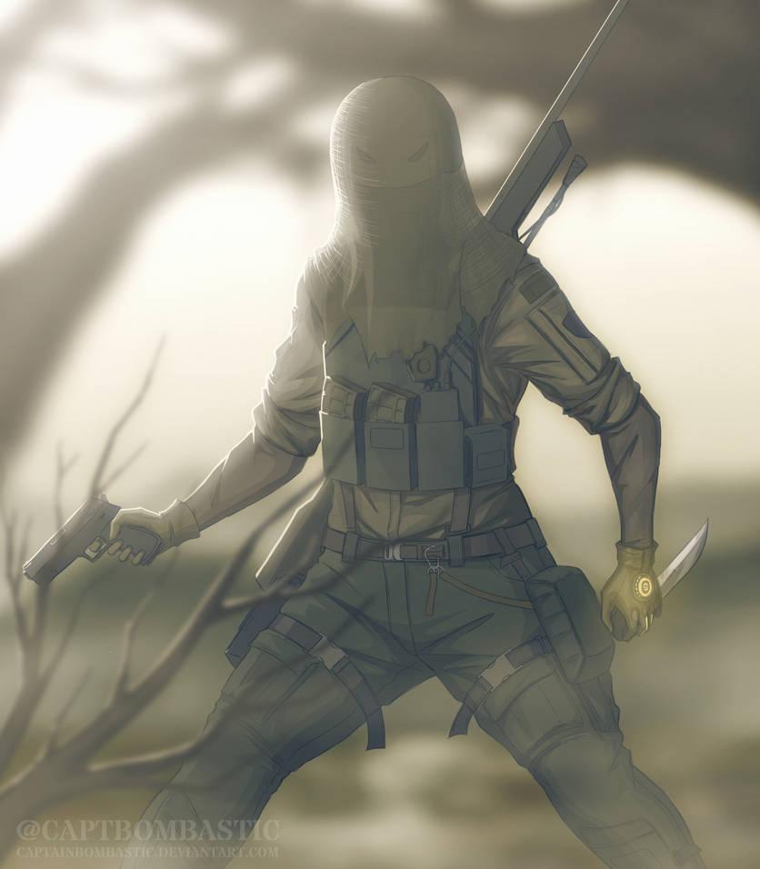 Rainbow Six: Siege - Monika Weiss (IQ) by NullifierF on