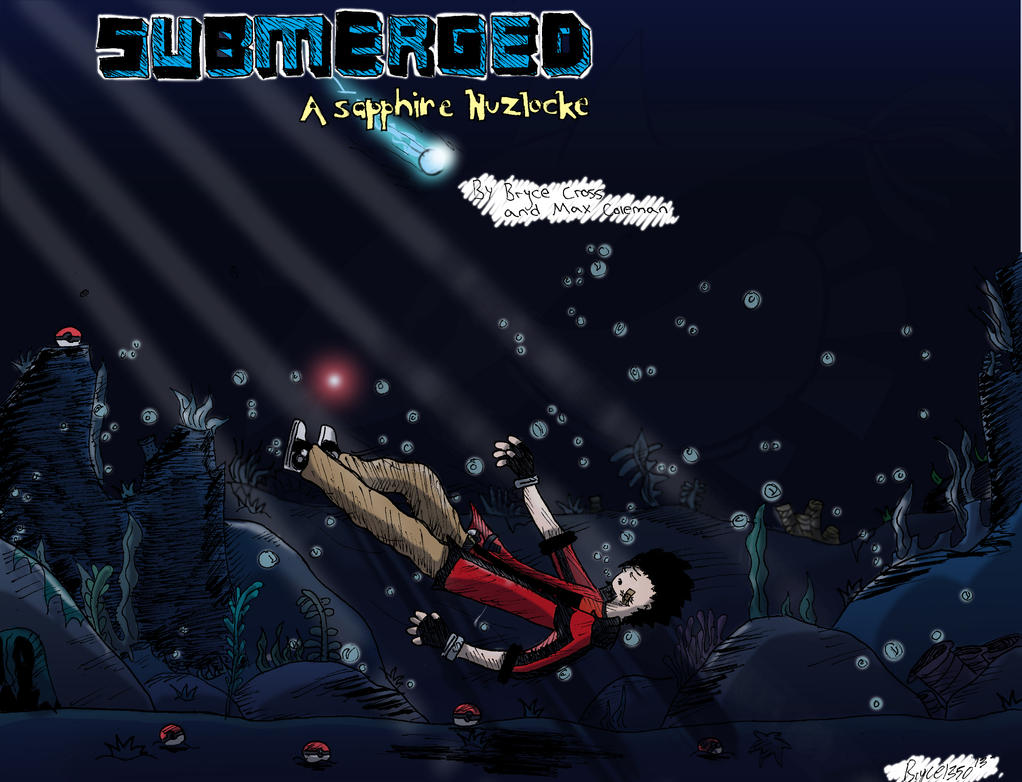 Submerged: A Sapphire Nuzlocke - Banner by Bryce1350
