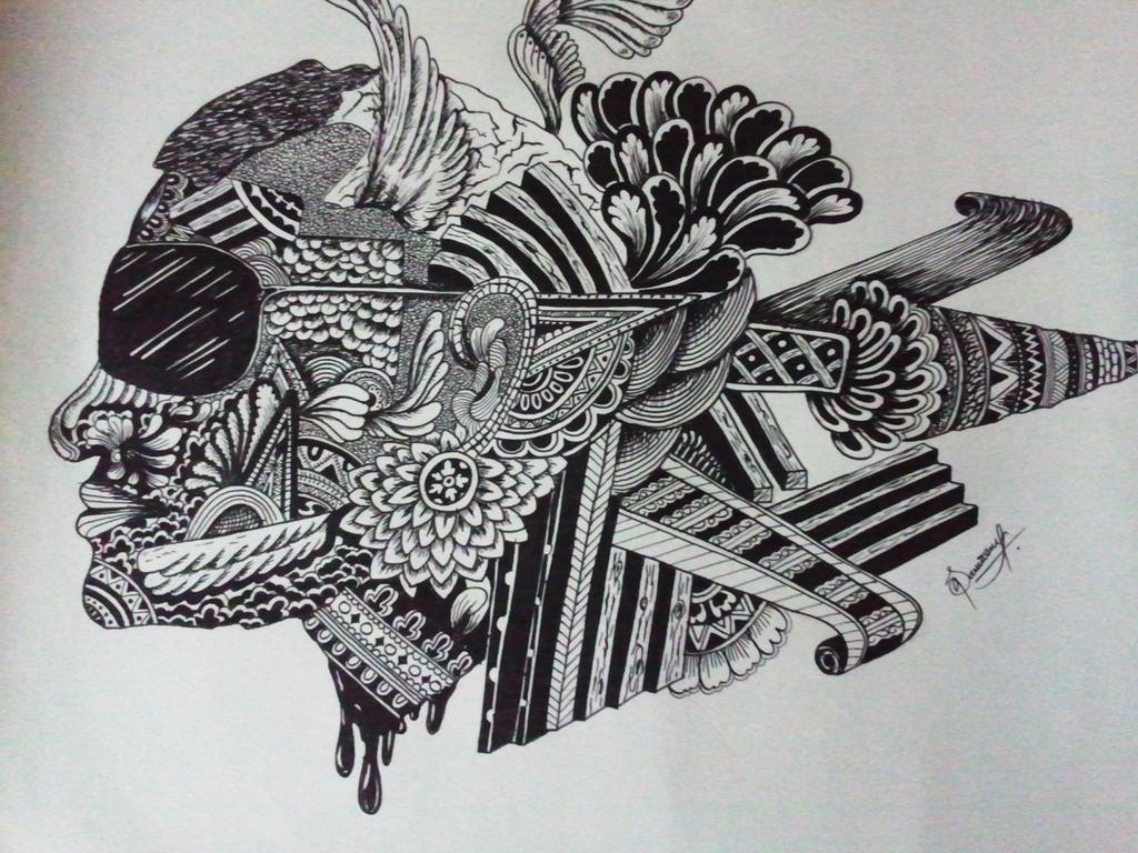 My Creative Art Face By Sabirpure On Deviantart
