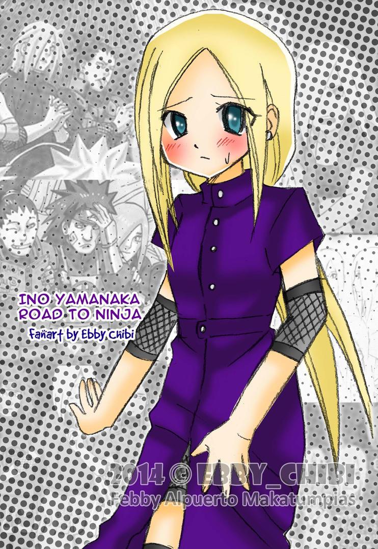 Ino Yamanaka Road To Ninja by EbbyChibi on DeviantArt