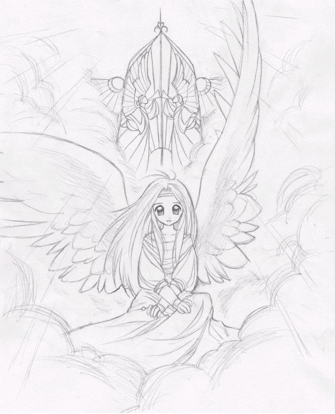 Welcome to the Gates of Heaven by Ianthe on DeviantArt Open Gates Of Heaven Drawing