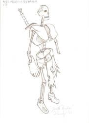Undead Skeleton warrior by jansa87