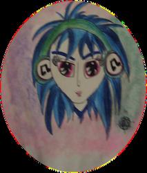 DJPon3 Anime Version by 24-1
