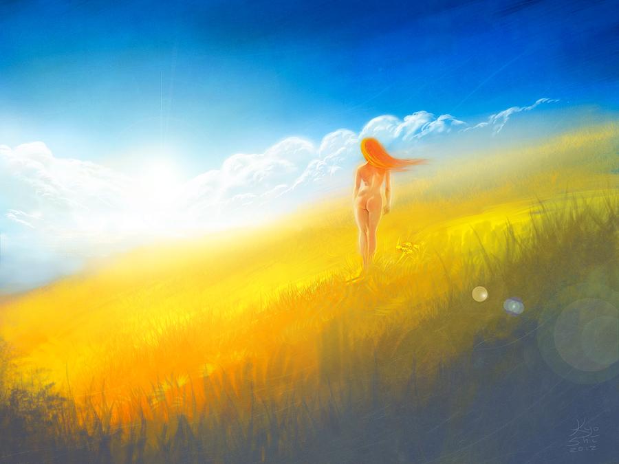 Sweet Morning Dew by Hotarubi-Kyoshi