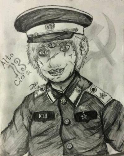 Communist Clef by akatsukisakura001