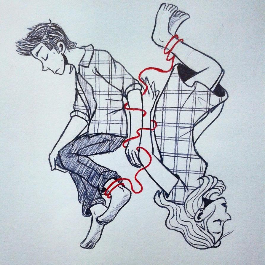 Red string by Astrera