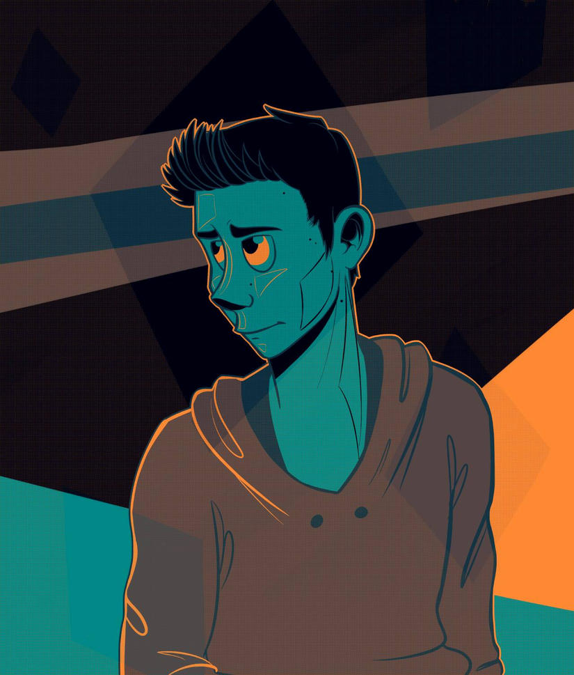 Stiles in blue by Astrera