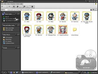 J's Music Folder by Ninja-raVen