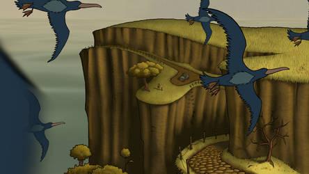 Exodus Screencap - Birds by Ninja-raVen