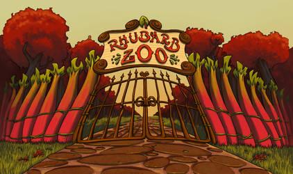 Rhubarb Zoo Logo by Ninja-raVen