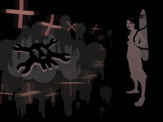 Rocketgirl Wallpaper by Ninja-raVen