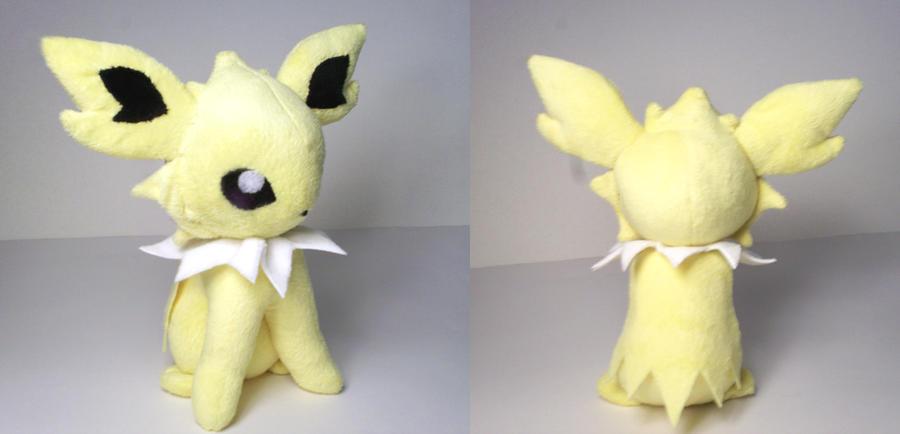 Jolteon plushie by Cutie-Star