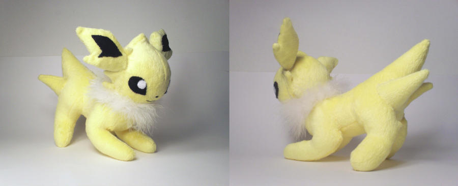 Attacking Jolteon Plush by Cutie-Star