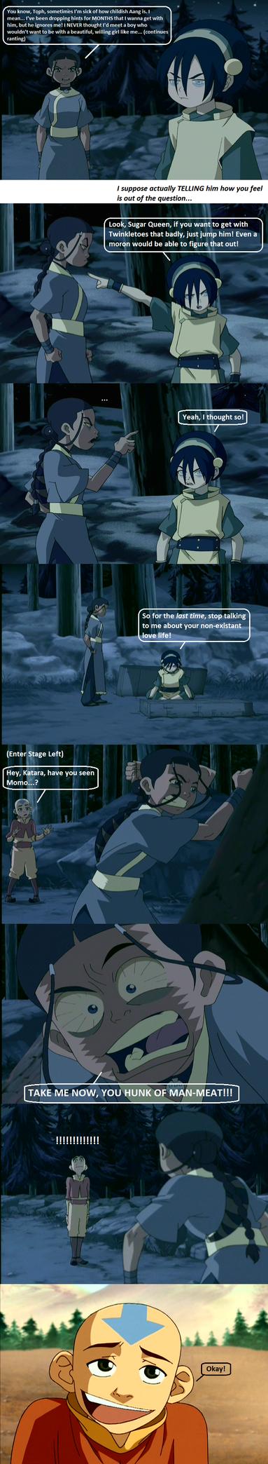 Katara Wants Aang by LightEcoSage1
