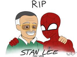 RIP Stan Lee by JadenStation