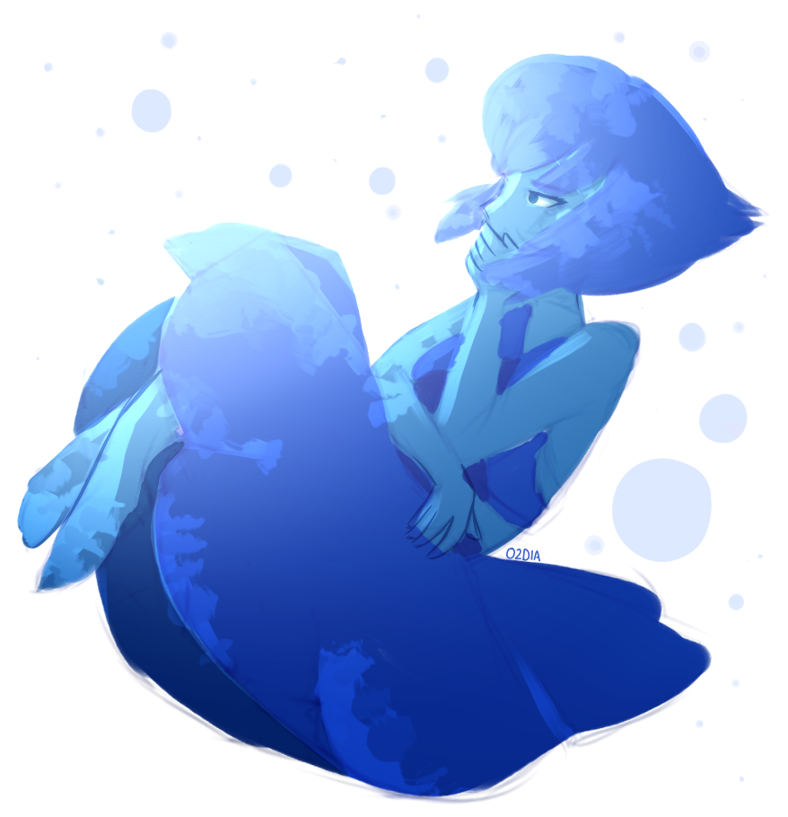 this is unfinished and lazy and also like the fifth lapis ive drawn this week i need to stop