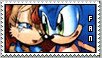 Sonic and Sally Stamp by Lil-Miss-Dynamite