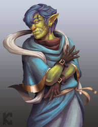 Charismatic Mage Orc by KyleChua1996