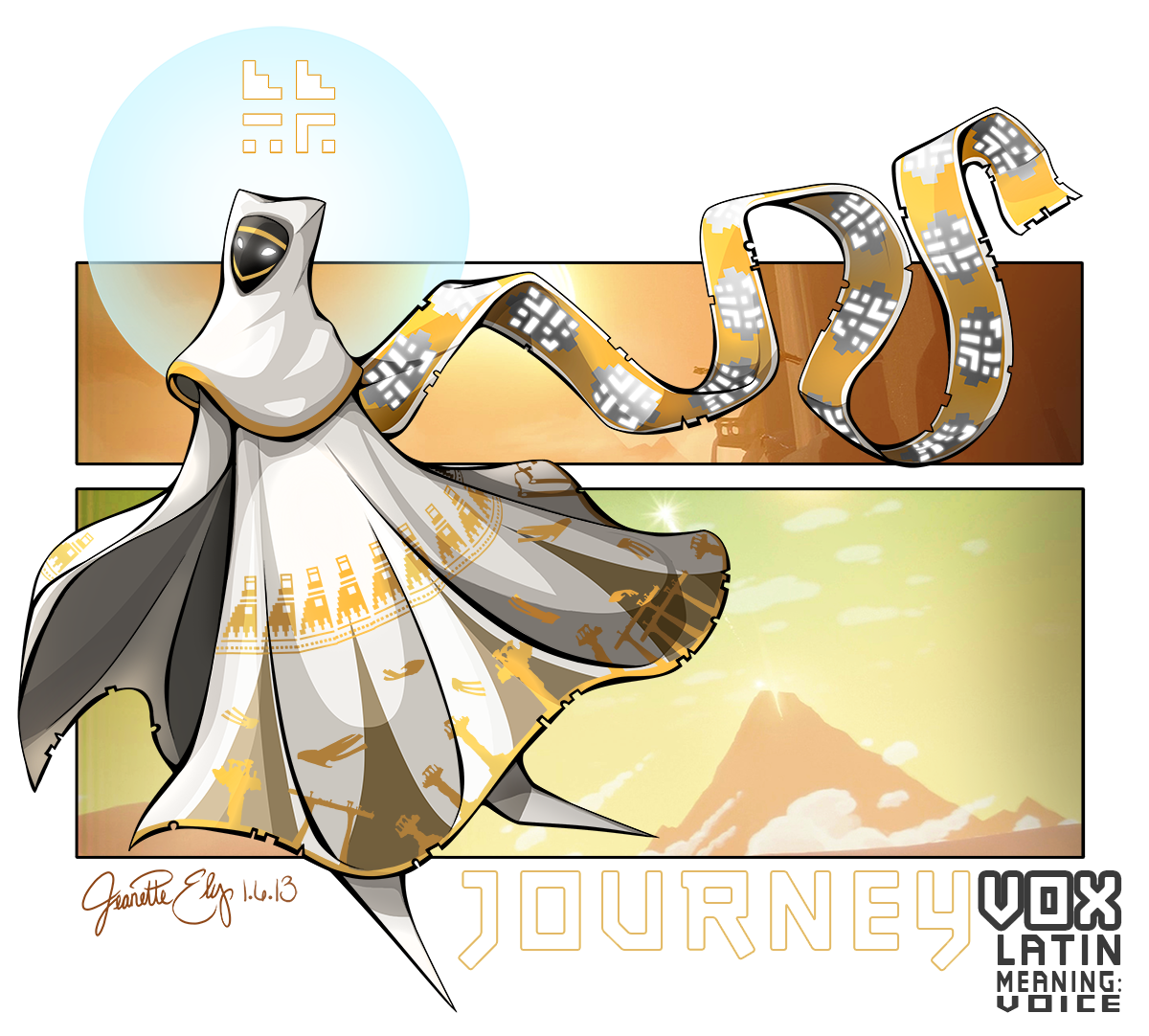 Journey Character Vox by ArcaneAvis