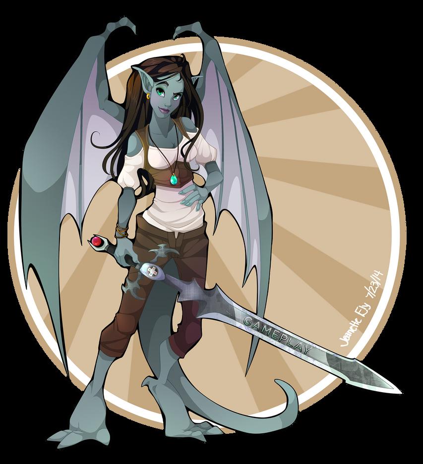 Gargoyle Gameplay by ArcaneAvis