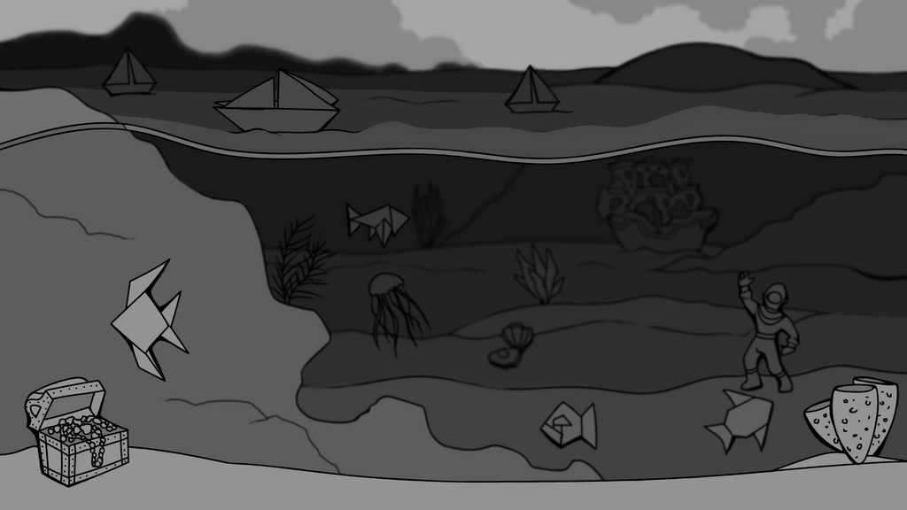 Aquarium Parallax Mockup by ArcaneAvis