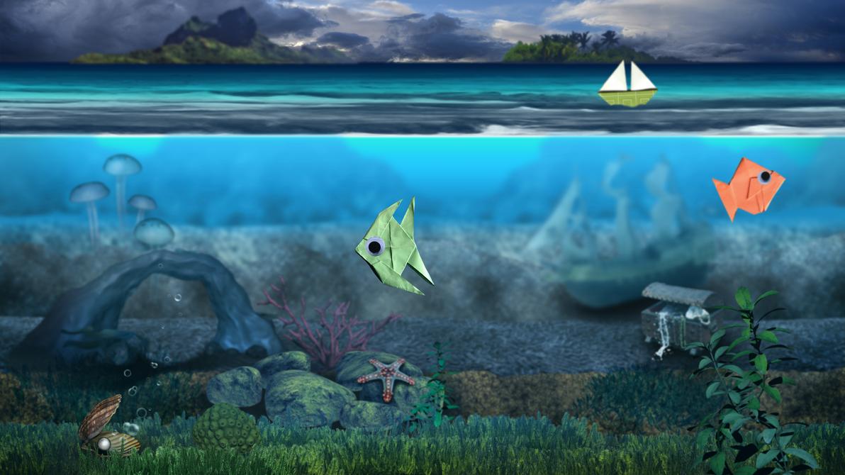 Ocean Aquarium Mockup by ArcaneAvis