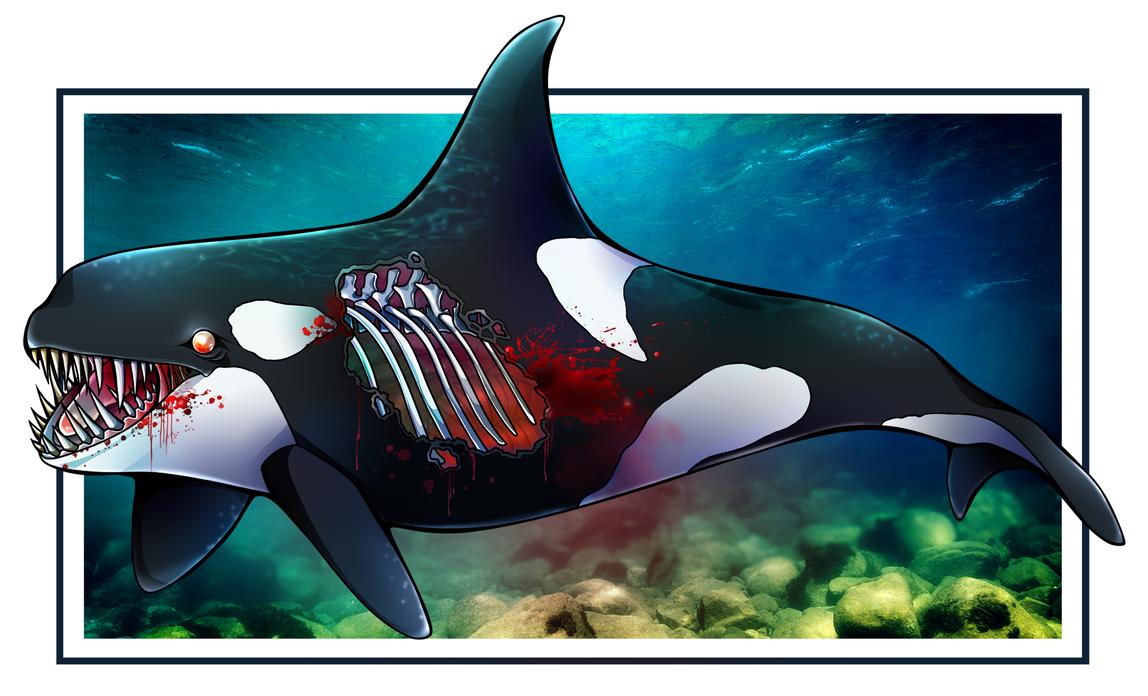 Orca Zombie by ArcaneAvis