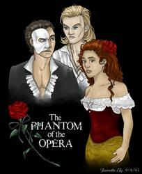 Phantom of the Opera Triangle by ArcaneAvis