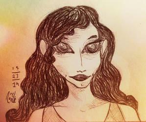 Realism Carisole sketch by NoelNoelle