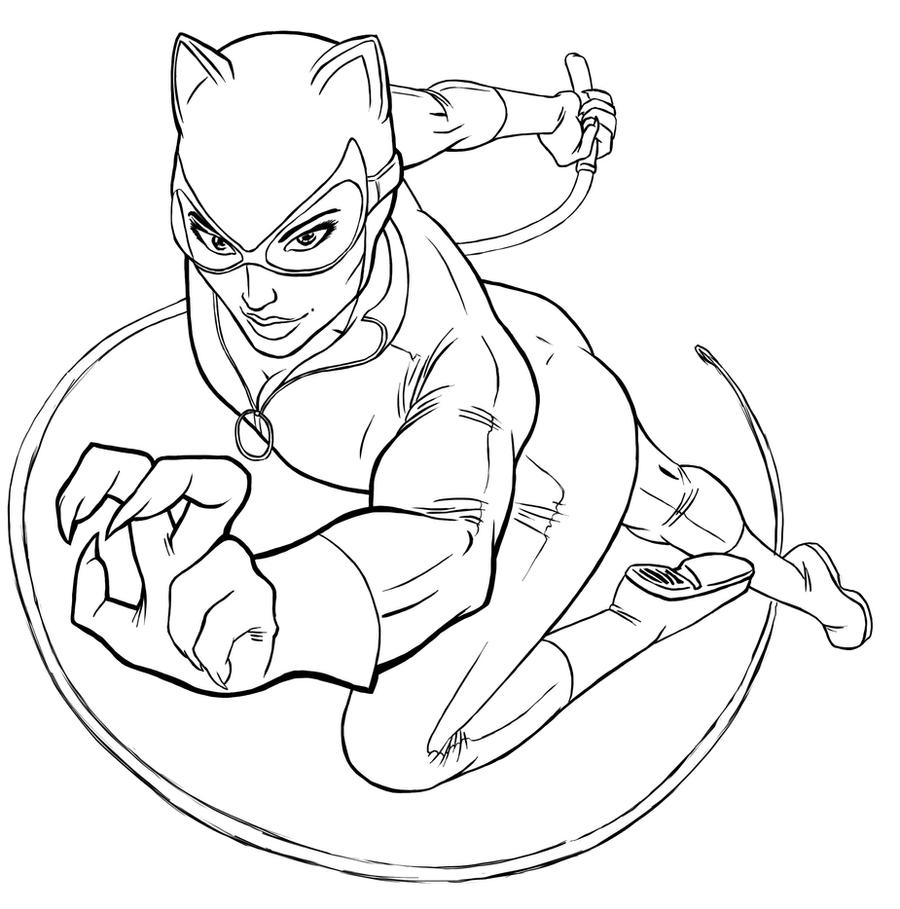 Catwoman 2 by ravendark82 on deviantart for Catwoman printable coloring pages