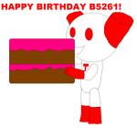 Happy Birthday b5261!