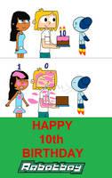 Ten Years of being a True Boy! by ArthurEngine