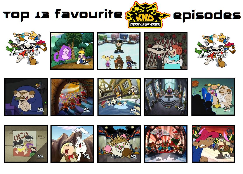 Best Episodes Of Kids Next Door