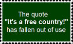 Overuse of free country