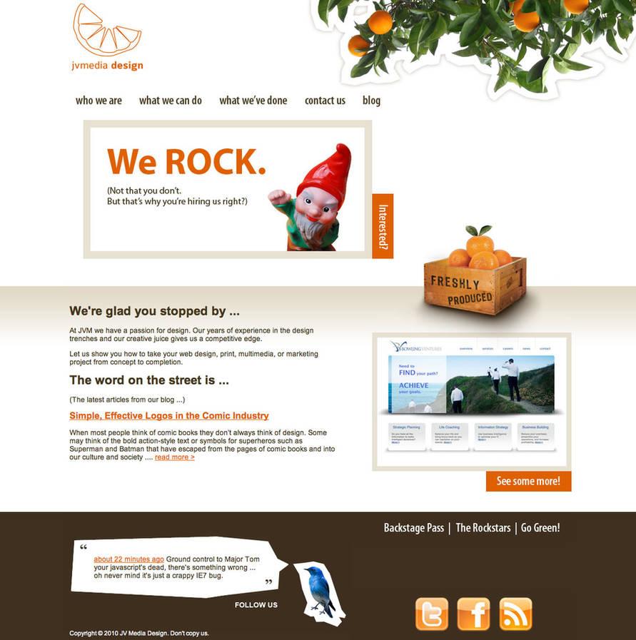JV Media Design new site