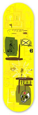 Skateboard deck  - Family Tree