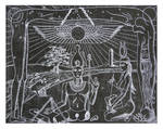 Isis Assembles Osiris' Corpse