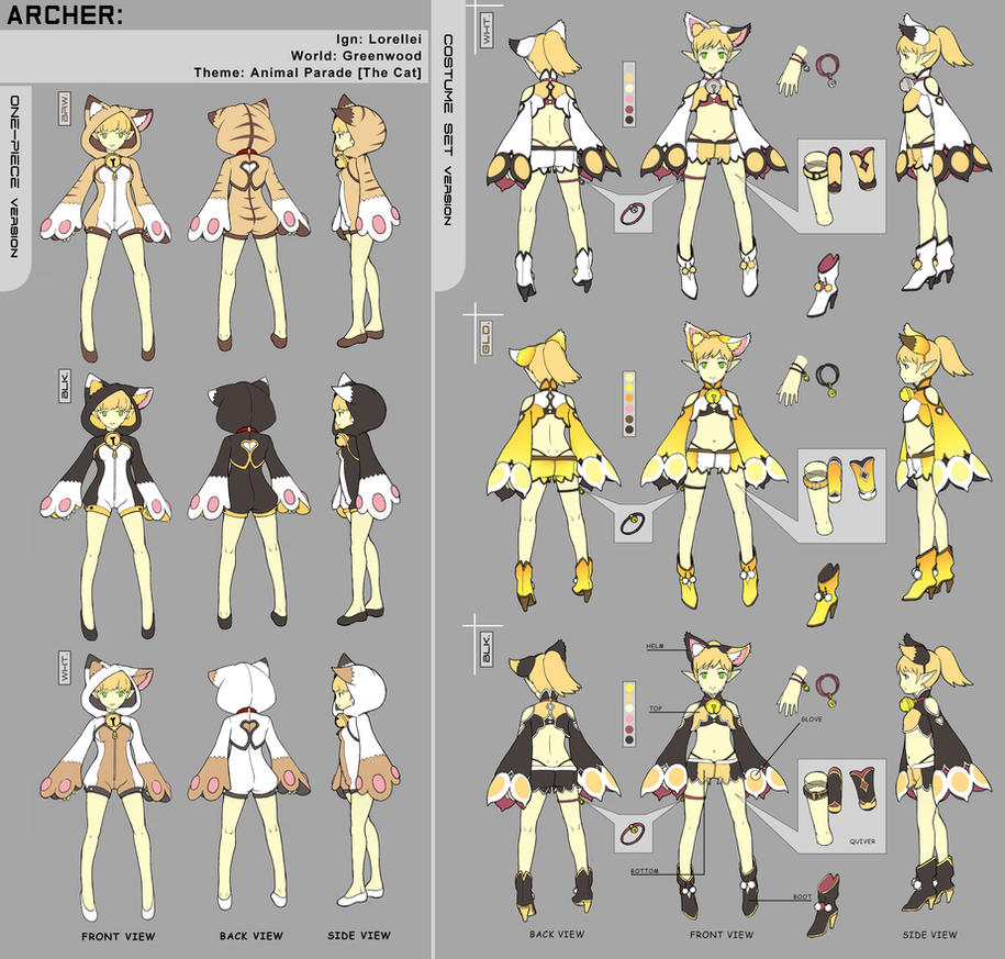 Dragon Nest ARCHER costume SET by jaypao ...  sc 1 st  DeviantArt & Dragon Nest: ARCHER costume SET by jaypao on DeviantArt